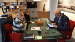 Overleg Welbions, Insight vormgevers en Van Heek Schilderwerken